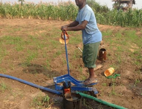 De pompen in malawi doen hun werk!
