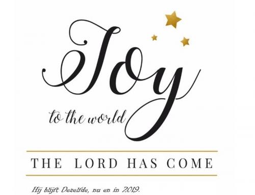 Kerstgroet 2018